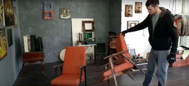 Как старое советское кресло превратить в стильную и удобную мебель