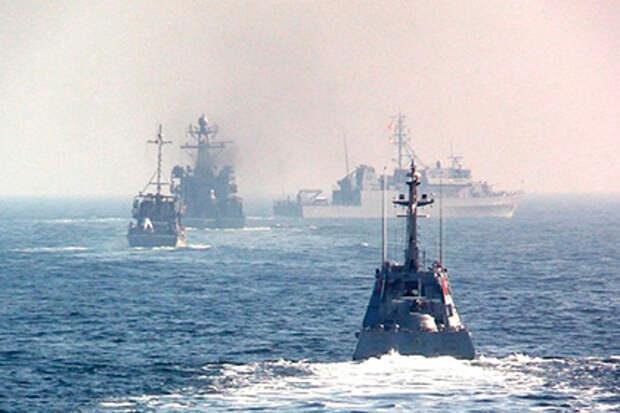 На Украине заявили об опасности вторжения с моря