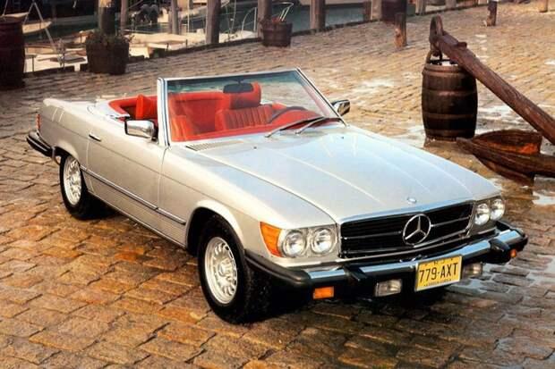 Mercedes-Benz SL авто, автодизайн, америка, бампер, безопасность, накладка, спорткар, суперкар