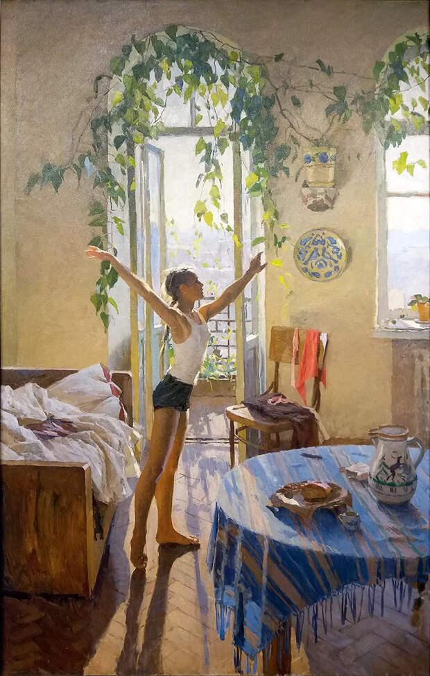 Русские картины об изоляции