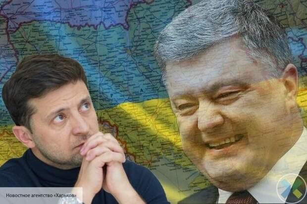 Олейник: Порошенко увидел в слабости Зеленского шанс вернуть пост президента Украины