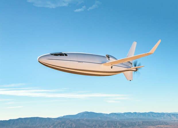 Американцы официально представили проект самолета-пули Celera 500L