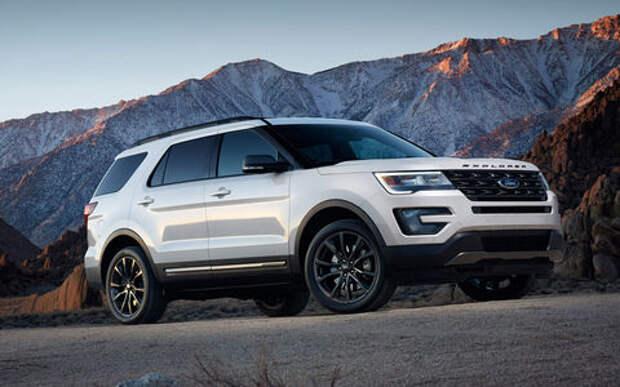 Ford отзывает более 14,5 тыс. Explorer из-за задней подвески