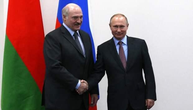 Визит Лукашенко в Сочи для встречи с Путиным