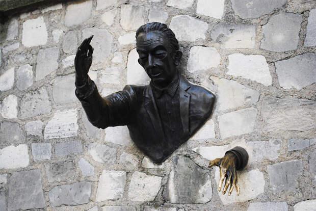 Человек, который умел проходить сквозь стены, Париж, Франция, Европа