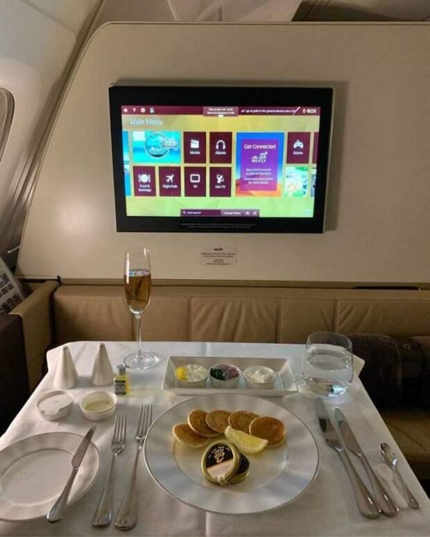 Корм или еда? Как кормят в бизнес-классе и эконом-классе разных авиакомпаний