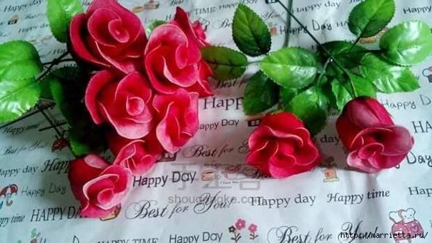 Розы из капрона. Красивые идеи и мастер-класс (86) (593x334, 128Kb)
