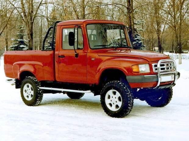 ГАЗ-2308 «Атаман» автомобили, газ, фоторепортаж