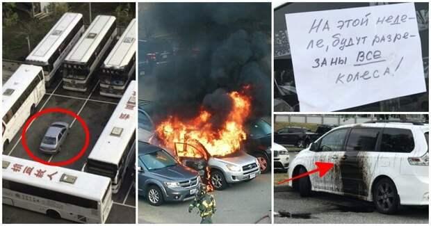 15 человек, которые думали только о себе, когда парковались, и поплатились за это идиоты, мастер парковки, не повезло, неправильная парковка, парковка, прикол, фото