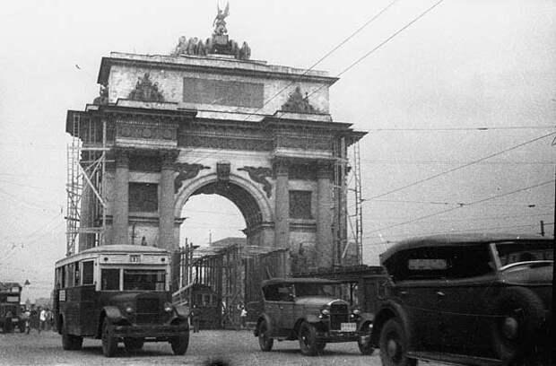 Триумфальная арка в Москве