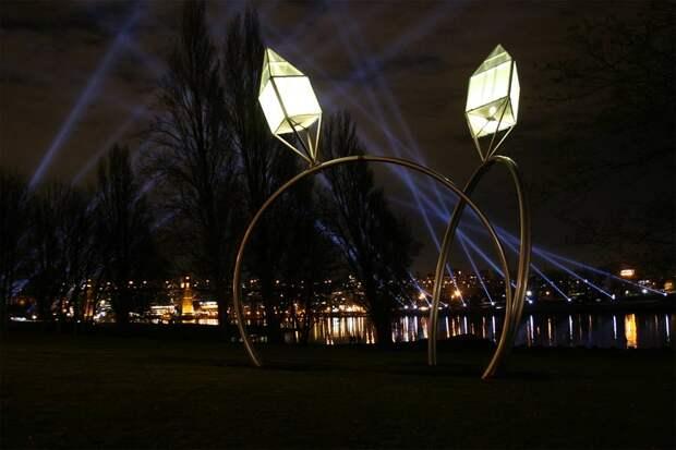 Скульптура «Обручальные кольца», Ванкувер, Канада, Северная Америка и Карибы