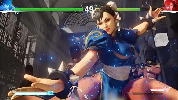 Чан-Ли из Street Fighter