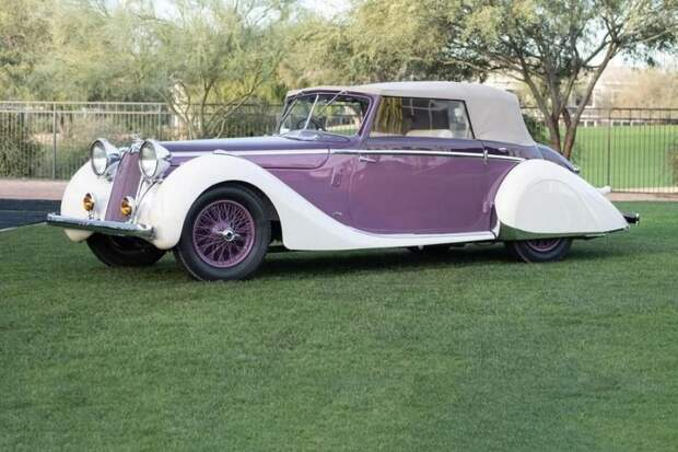 Talbot Lago T26 авто, автоаукцион, автомир, автомобили, автомузей, аукцион, олдтаймер, ретро авто