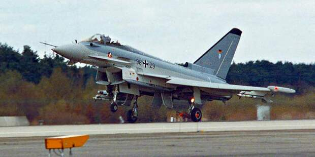 Eurofighter, илиОвреде гордыни ижадности