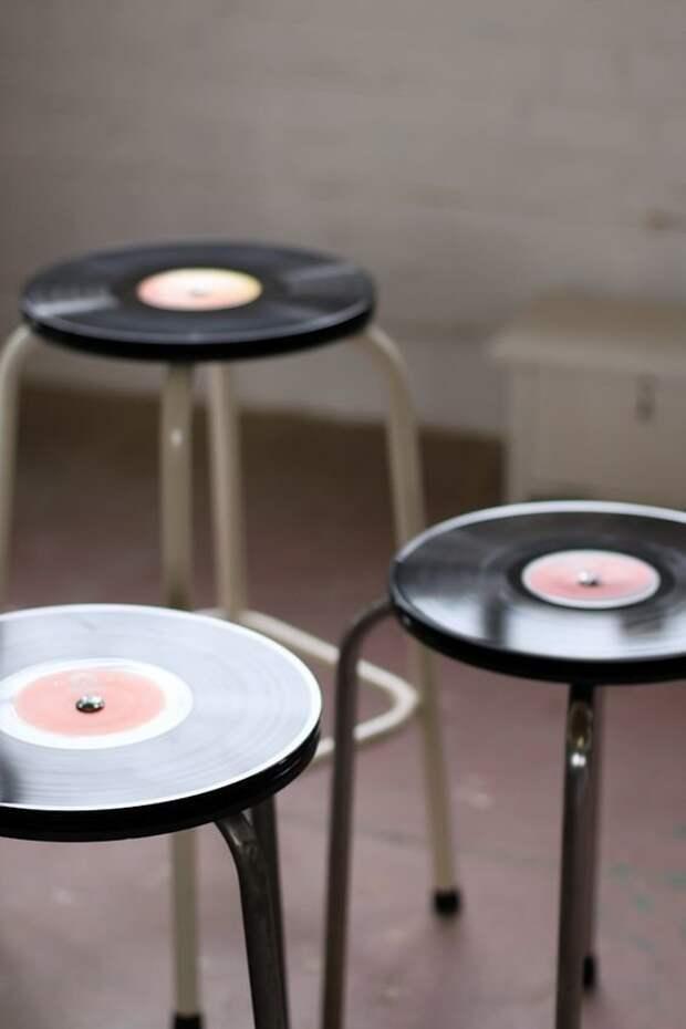 Виниловые пластинки Фабрика идей, дизайнеры, мебель, фантазия