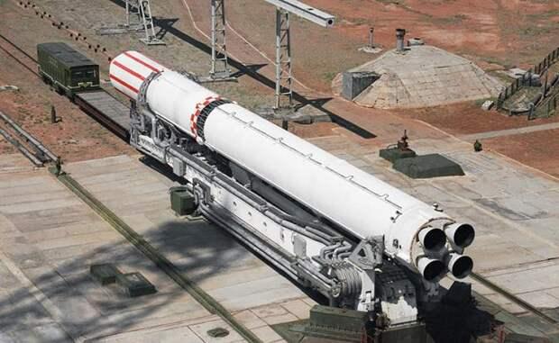 """На фото: ракета """"Зенит"""", произведенная на украинском производственном объединении """"Южмаш"""""""