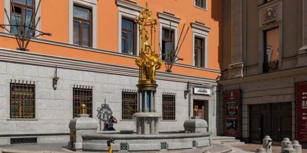 Достопримечательность Арбата — фонтан «Принцесса Турандот» будет отремонтирован