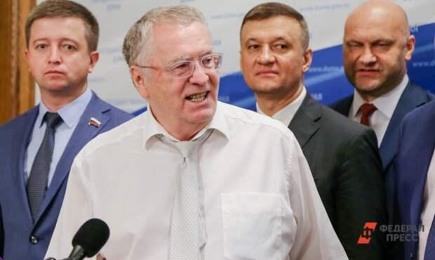 Жириновский: за оскорбление властей надо сажать на пять лет