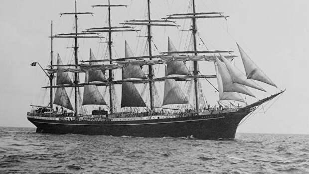Датский барк Копенгаген, 1921 год