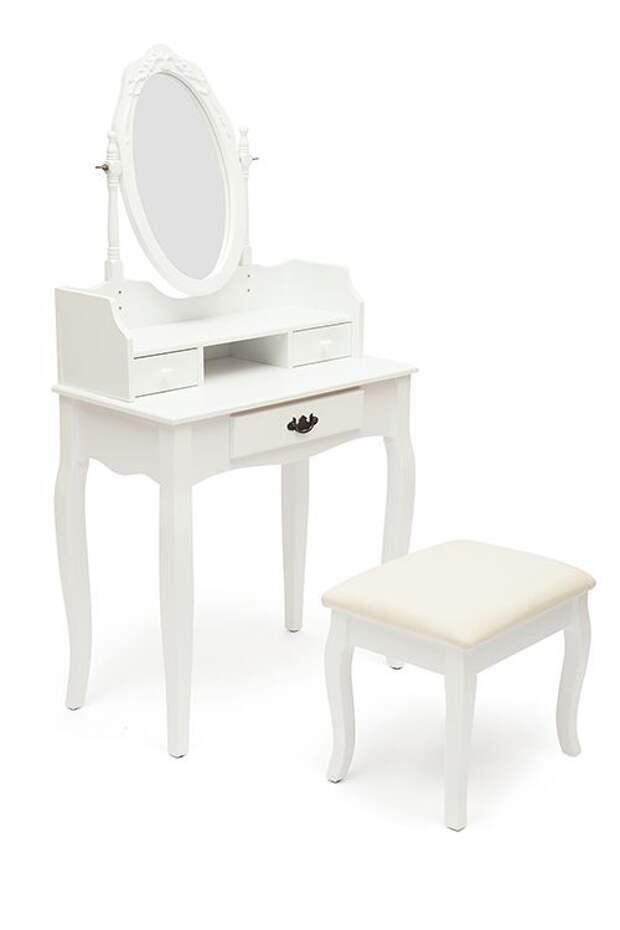 Такому туалетному столику найдется место даже в маленькой квартире