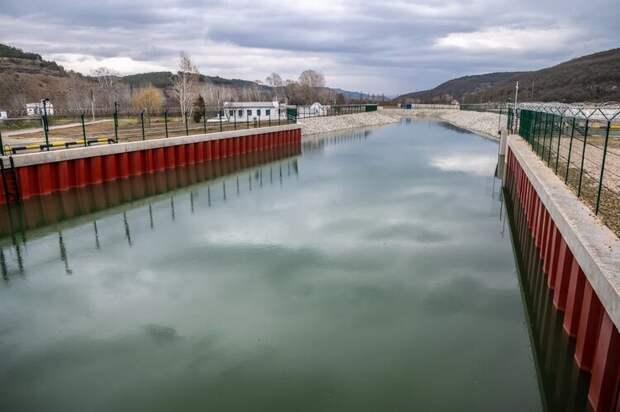 Водозабор на реке Бельбек не пострадал от потопа