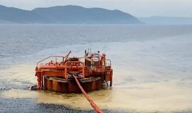 Росприроднадзор: Ущерб отразлива нефти натерминале КТК под Новороссийском оценен в4,48млрд рублей