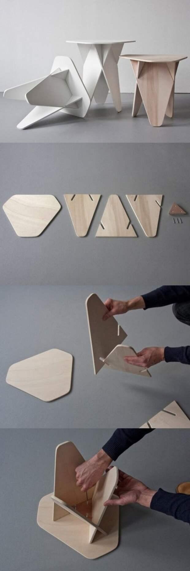 Стулья своими руками – креативно и практично