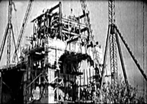 Капустин Яр.Строительство стенда для огневых испытаний двигателя ФАУ-2