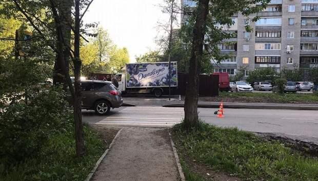 Иномарка сбила 10‑летнюю девочку на пешеходном переходе в Подольске