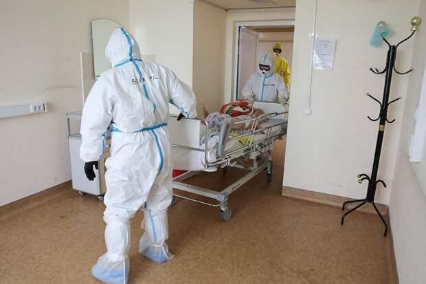 В России выявили 8 840 новых случаев COVID-19