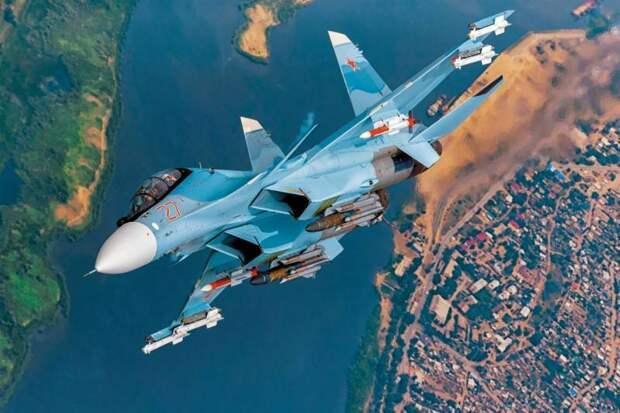 «Легко уйдёт от ракет французского истребителя»: В ЮАР пишут о преимуществе российского Су-35 над французским Rafale