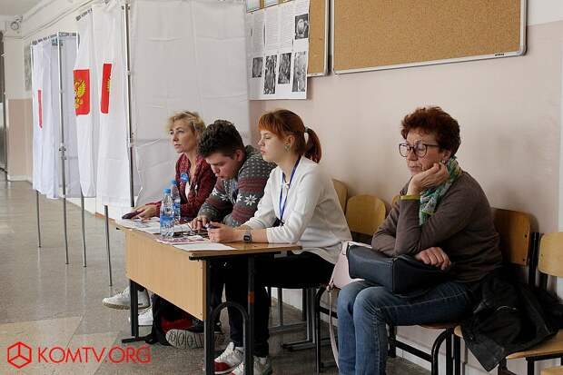 Избирательный участок №444 (школа №17) Выборы в Крыму 2018  3