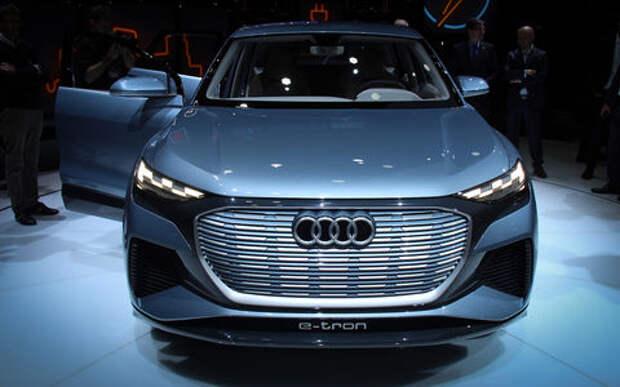 Новый Audi Q4 на Женевском автосалоне — автомобиль с душой