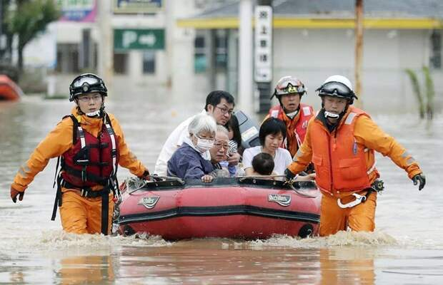 Апокалипсис наяву: Япония после наводнения #KURASHIKI, #Okayama, #hiroshima, ynews, наводнение, стихия, япония