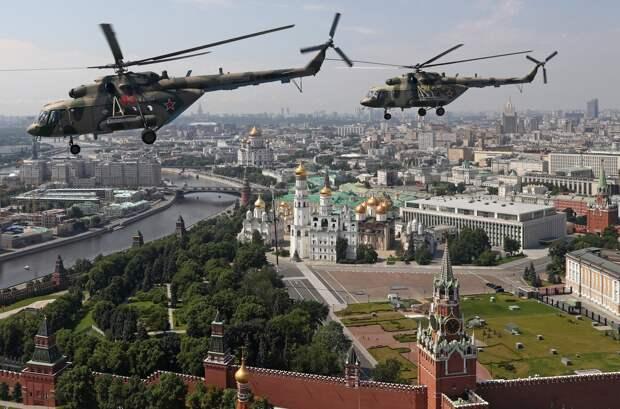 Генеральная репетиция парада, посвященного 75-летию Победы, в Москве.