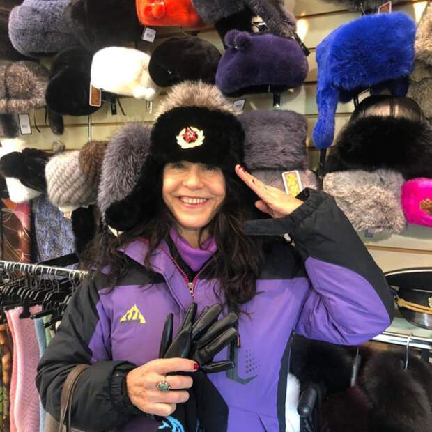 Луселия Сантус в Москве. Фото: Instagram