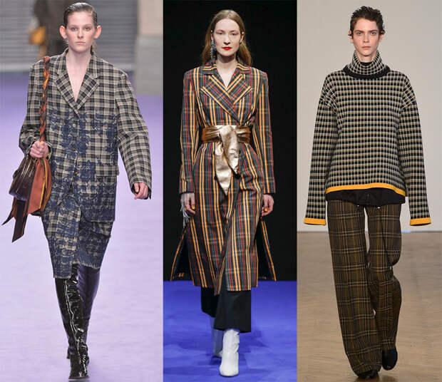 Модная тенденция – клетка