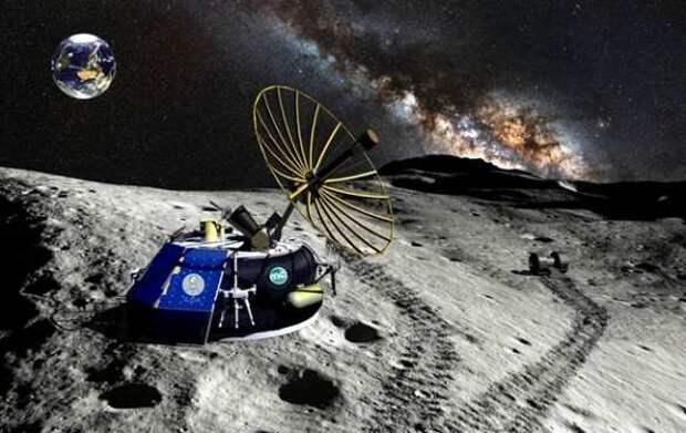 Россия собирается искать полезные ископаемые на Луне   Русская весна