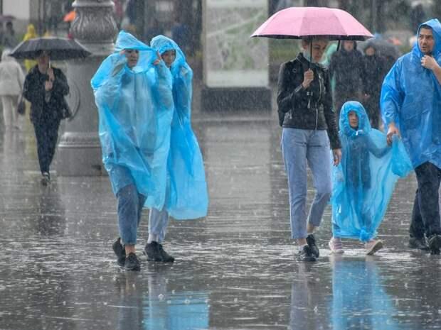 Москвичей предупредили о дождях на следующей неделе