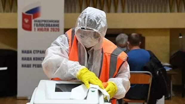 Безопасность превыше всего: допуск к работе на голосовании происходит при отрицательном тесте на COVID-19