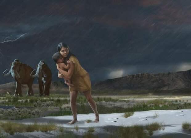 О чём рассказали учёным 1,5 км древних следов: загадочная находка в США