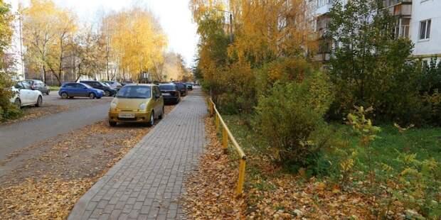 11 участков тротуаров отремонтировали в Ижевске