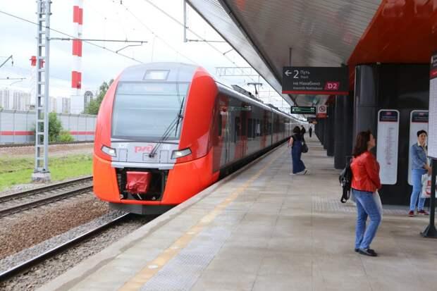Поезда на станции МЦК «Панфиловская» следуют с увеличенными интервалами
