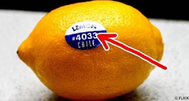 Был удивлен, когда понял смысл наклейки на фруктах (видео)