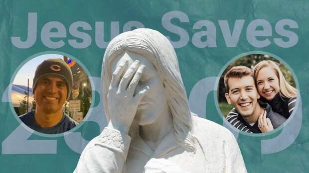 Умарафонца вмайке снадписью «Иисус спасет» случился сердечный приступ. Его спас медбрат Иисус