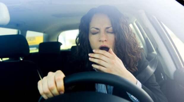 Сонный водитель – это большая опасность на дороге, и инспектор ГИБДД такого обязательно остановит, если только увидит. | Фото: belta.by.