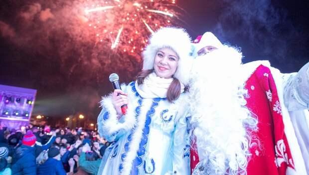Свыше 200 тыс человек посетили праздники в подмосковных парках в новогоднюю ночь