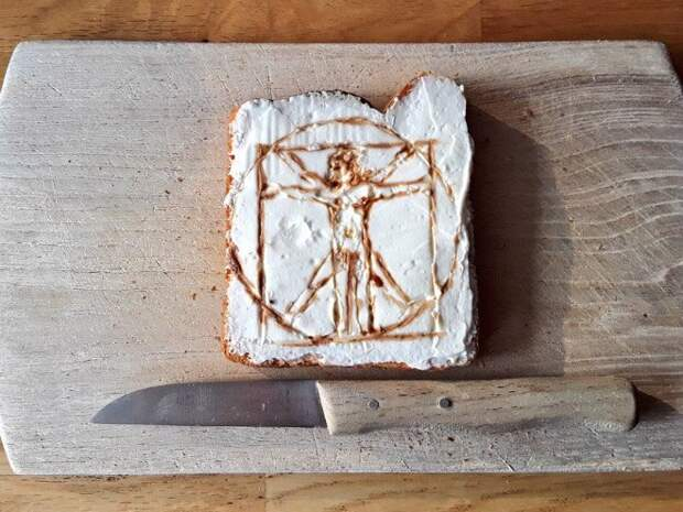 Не бутер, а шедевр! В Twitter воссоздали знаменитые картины из еды