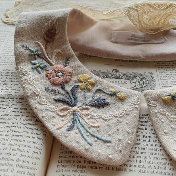 Фото - 11 Невыносимая нежность бытия: потрясающая вышивка Wakako Horai