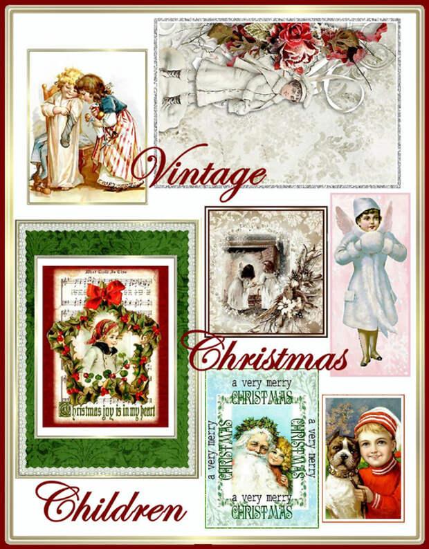 Vintage_Christmas_Children_Collage_Sheet_Sample (546x700, 513Kb)